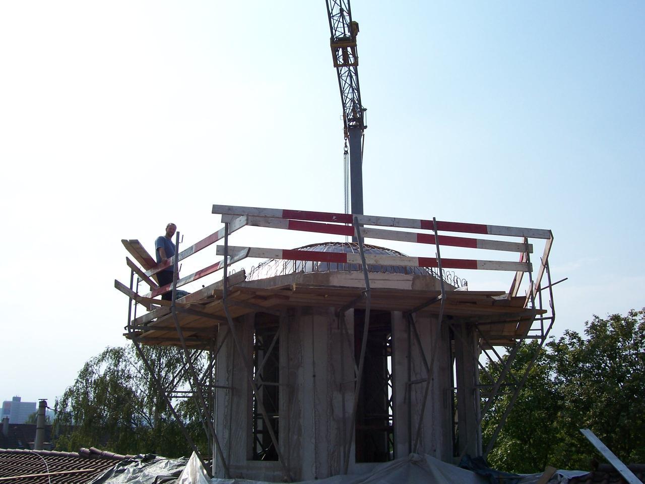 Septembrie, 1 - Turnul si cupola
